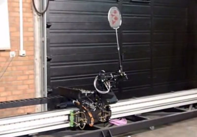 Badminton-robot ontwikkeling