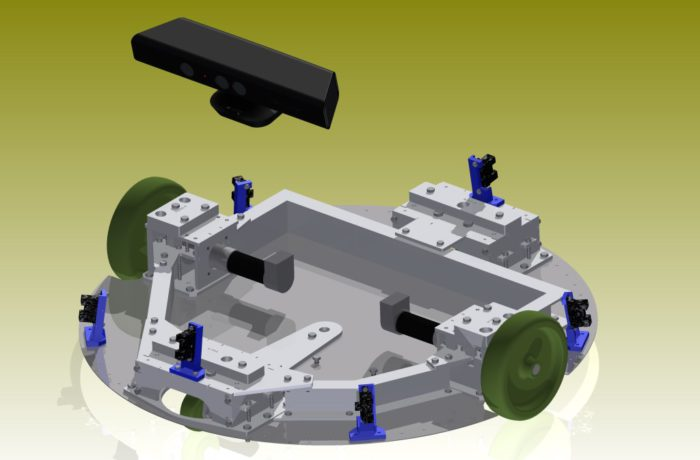 Autonoom rijdend robot platform